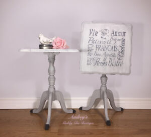 Pretty Pair Accent or Side Tables