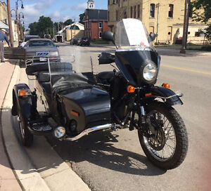2007 Ural Patrol with Sidecar