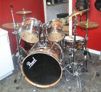 Pearl Vision VML drum set