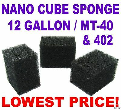 Nano Cube Sponge Filter MT-40 402 / 12 Gallon - 9 Pack