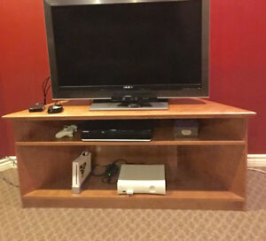 $30 Custom made  wood  corner tv stand