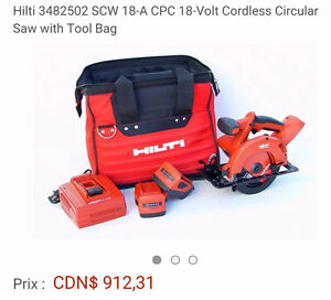 Hilty skilsaw wood and metal