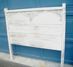 Antique twin sized headboard - farmhouse style