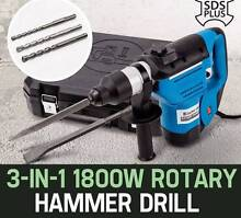 NEW  1800W 3 In1 SDS Plus Rotary Jack Hammer Drill Kippa-ring Redcliffe Area Preview