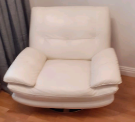 Sofology Swivel chair and left hand three seater L shape settee