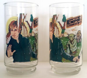 Star Wars Luke Skywalker Burger King glass 1980