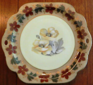Antique German Serving Plates