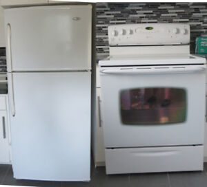 Poele et frigidaire Maytag Stove and fridge