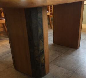 African Teak Wood & Slate Furniture