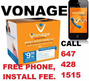 VONAGE HOME / BUSINESS PHONE.. FREE PHONE, FREE DELIVERY