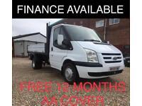 Ford Transit 2.4TDCi Duratorq ( 100PS ) 350M ( DRW ) 1 WAY TIPPER - NO VAT