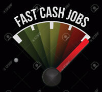 Looking for Cash Work