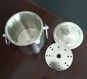 Stainless steel Ice Bucket / Tong Set  Liter