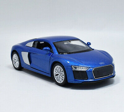 1:36 Welly 2016 Audi R8 V10 Metal Diecast Model Car Pull Back Blue for sale  Shipping to Canada