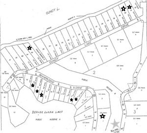 10 Lots for sale on Gundy Lake - near Rossburn, MB
