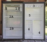 Danby mini fridge with freezer