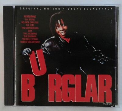 BURGLAR CD Japan soundtrack O.S.T THE JACKSONS Belle Stars JETS Belinda Carlisle Carlisle Bell
