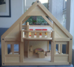Plan Toy Wood Doll House