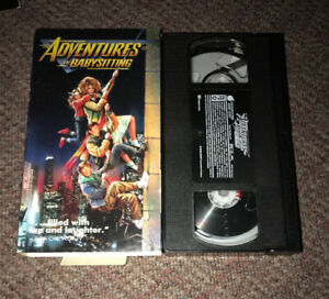 Adventures in Babysitting 1987 VHS Cult Comedy Classic