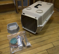 Excellent Condition, Medium Carrier with Accessories, Cat, Dog