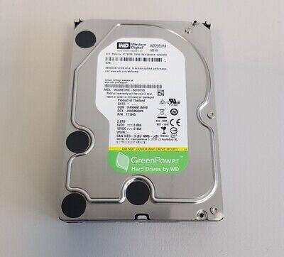 Western Digital WD20EURX 2 TB SATA III PC Festplatte 5400 RPM 64 MB 3,5 Zoll HDD