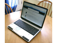 "Could Deliver - MASSIVE 17"" Gaming Toshiba Laptop - Nvidia Graphics - Intel 4.0GHz - DVD-RW"