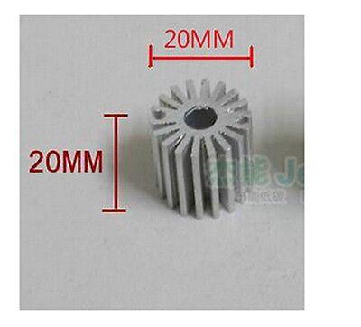 5 Pcs Mini Size 1w Watt Led Aluminium Heatsink Long Round