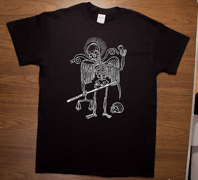 Santa Muerte t-shirt Dark art Halloween Oddities Goth Horror Punk Rock ](Horror Punk Halloween)