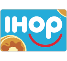 $25 IHOP Gift Card - Buy (2) $25 IHOP Gift Card and Save $10 - Emailed