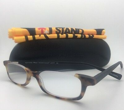 Readers EYE•BOBS Eyeglasses WHAT INHERITANCE? 2277 19 +2.25 Tortoise-Black Frame