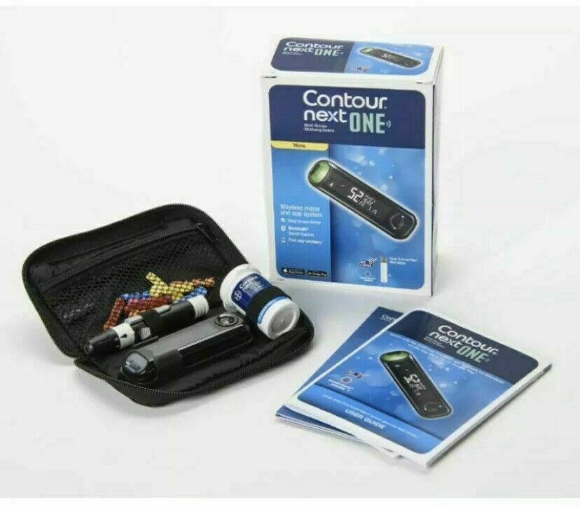Bayer Contour Next ONE Glucose Monitoring System Wireless Me