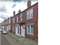 South Shields.John Williamson Street. 2 Bed lower Flat. No bond! Dss welcome!