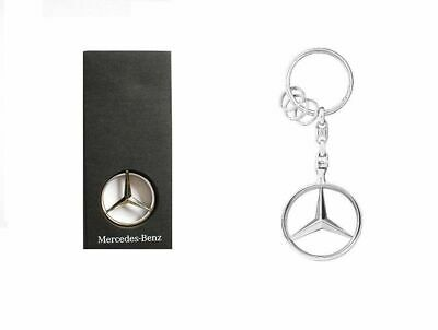 Original Mercedes-Benz Schlüsselanhänger Keyring Stern Brüssel Collection