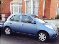 Non Runner NISSAN MICRA 2007, 70,000 miles, 6 months MOT, Spares or Repair, £299 or offer