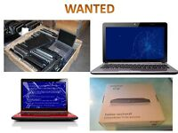 WANTED LAPTOPS / BT YOUVIEW BOXES/ JOBLOTS / BANKRUPT STOCK / PALLETS OF ITEMS / SINGLE ITEM