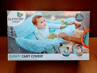 Summer 2-in-1 Cushy Shopping Cart Cover and Seat Positioner, Diamonds