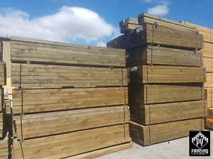 Treated Pine ECOWOOD Sleepers Seaford Frankston Area Preview