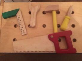 Big Jigs Children's Wooden Workbench