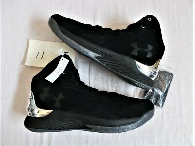 be78365fd3c7 Under Armour UA Curry 1 Steph Curry PE s 11 DS NEW NWOB LUX Leather Black  One I