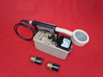 Ludlum Model 3 Survey Meter With 44-9 Package Probe