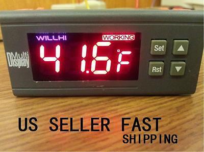 30a 110v Digital Temperature Controller -58 To 230 Fahrenheit Sensor A160 Usa