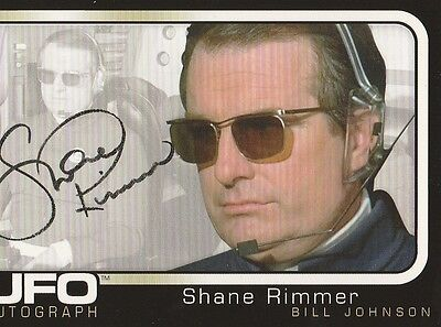 UFO - UK TV Series - Autograph Trading Card - SHANE RIMMER (Bill Johnson) for sale  Glen Ellyn