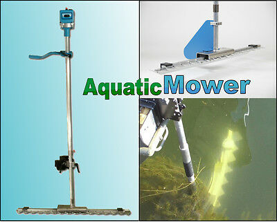 Boat Mounted Aquatic Mower - Underwater Electric Motorized Seaweed Cutter