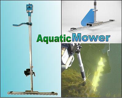 Aquatic Underwater Lake Weed Seaweed Cutter Mower Boat Mounted Electric