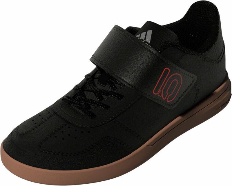 Five Ten Sleuth DLX CF Kids Flat Shoes | Black/Scarlet/Gray Four | Youth 2