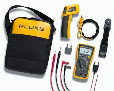 Fluke 11662 Max 116 Hvac Multimeter And 62 Max Infrared Thermometer