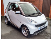 SMART CAR COUPE - FORTWO PURE 61 MHD AUTO, 2013 Registered, only 11562 miles, excellent condition.