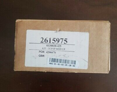Veeder Root 0330020-425 Ethernet Tcpip Communications Tls-350.