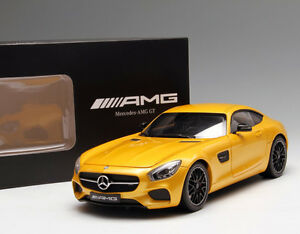 1 18 Minichamps Mercedes-Benz AMG GT Die Cast Model Yellow
