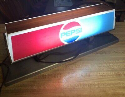 Pepsi Counter Display Light VINTAGE